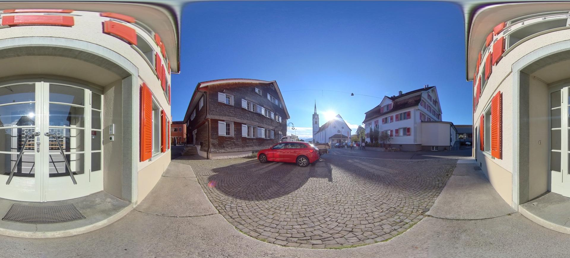 Betreten Sie virtuell den Freihof in Mörschwil !